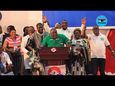 Koku Anyidoho, Allotey Jacobs, others show solidarity at NPP's Delegates Conference