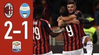 Highlights Ac Milan 2-1 Spal - Matchday 19 Serie A Tim 2018/19