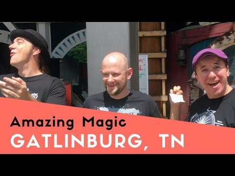 😲 Amazing Mentalism/Magic Trick at Black Light Circus Golf in Gatlinburg | Impossibilities!