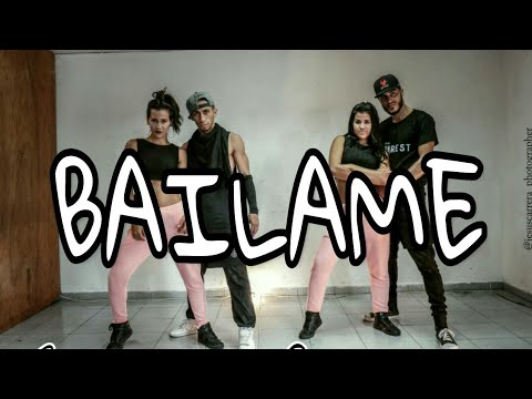 Bailame Remix - Nacho ft Yandel & Bad Bunny | Coreografía by @romantorrealba & @richardc_pro