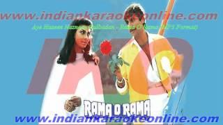 Aye Haseen Nazneen Gulbadan Karaoke | Rama O Rama Movie Karaoke