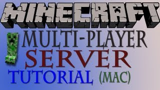How To Make a Minecraft Multiplayer Server 1.5.2 (Mac) - HD