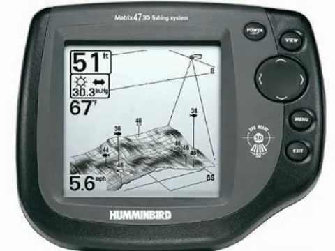 sondeur humminbird 3d a guerledan - youtube, Fish Finder