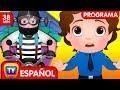 Festival de niños y cometas (Colección) | Ep. 15 | ChuChu TV Huevos sorpresas de Policías