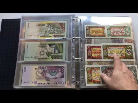 Banknote Collection Volume 1 - Afghanistan To Angola - May 2020