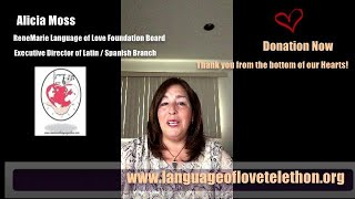 Alicia Moss  ~Donation- Thank you from the Bottom of our HEARTS~  6th  Language of Love Telethon!