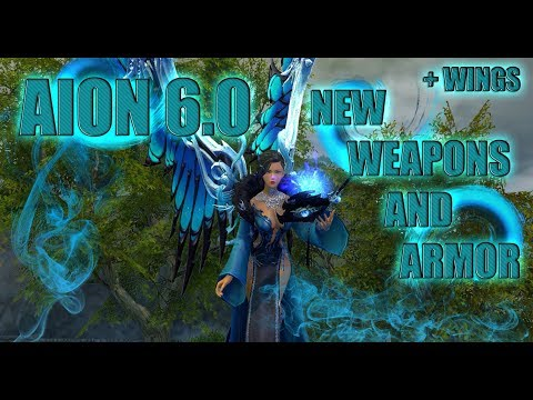 AION 6.0 - NEW ARMOR, WEAPONS, WINGS #1