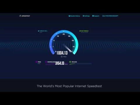 Speed Test Beta