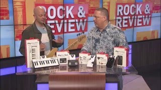 IK Multimedia iRig BlueTurn - Steve Cook - FOX 17 Rock & Review