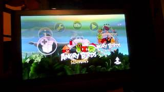 let;s play Angry Birds Trilogy PS3