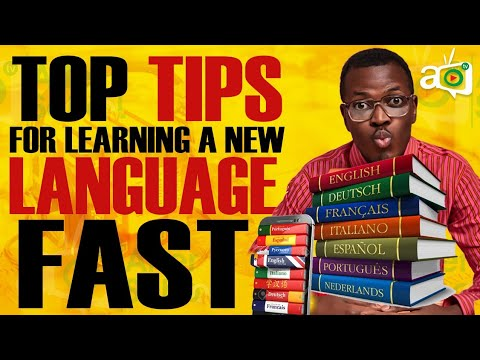 How To Learn A New Language Fast Youtube