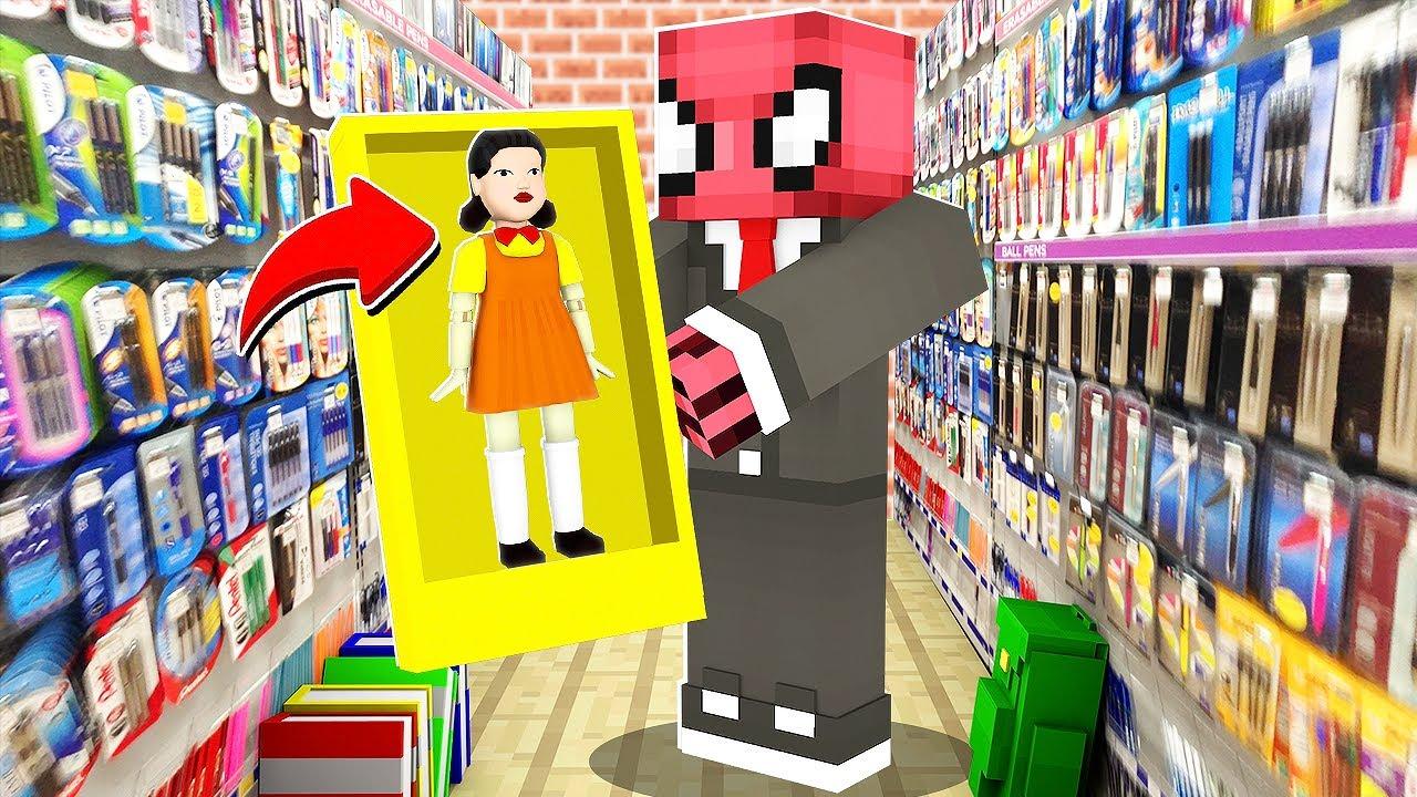 Download SQUID GAME OYUNCAĞI SATIN ALDIM - Minecraft