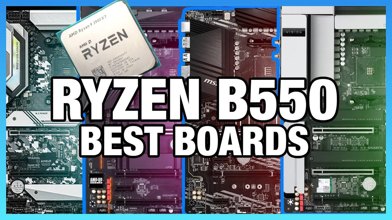 Best B550 Motherboards For Amd Ryzen Cpus Msi Gigabyte Asrock Asus Youtube