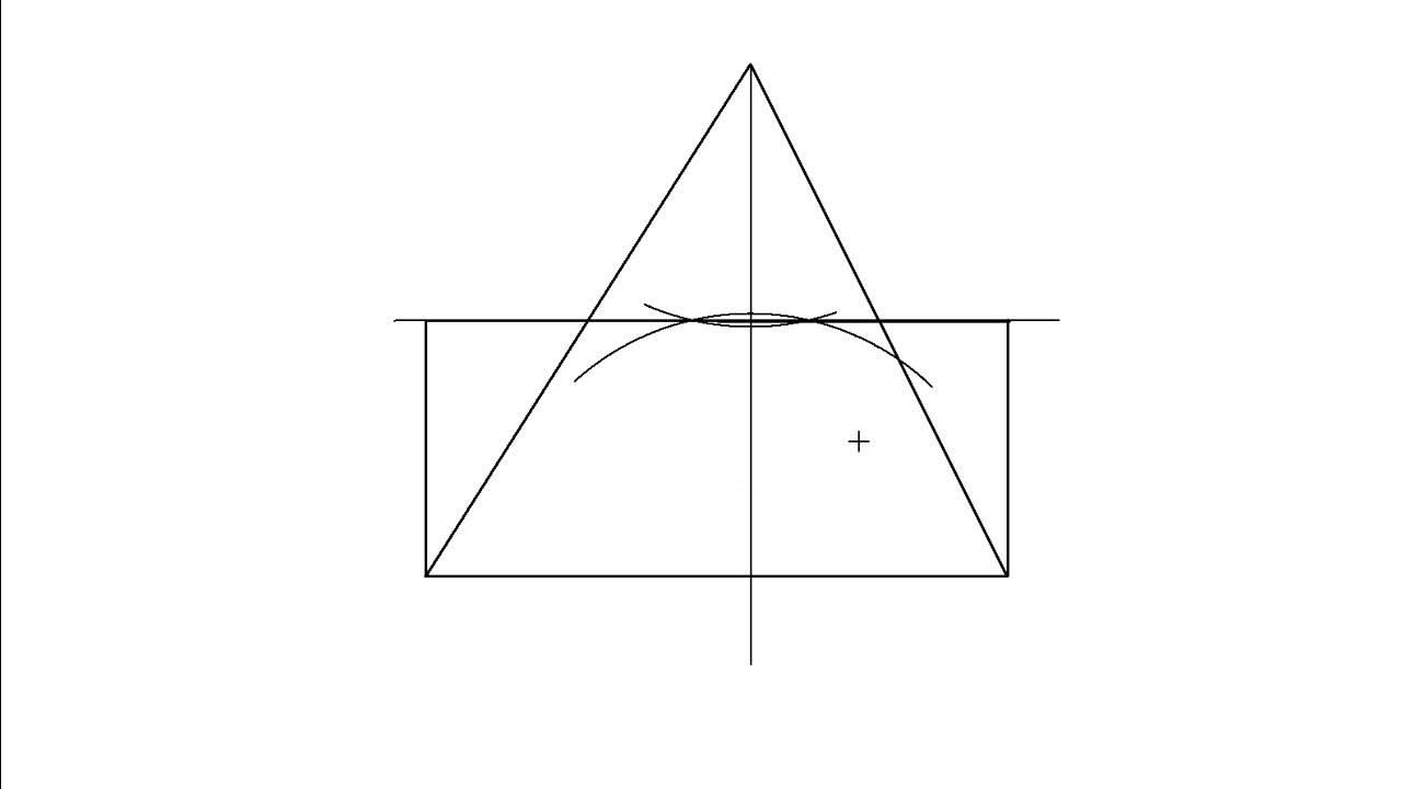 Trazar un rectngulo equivalente a un tringulo Equivalencia