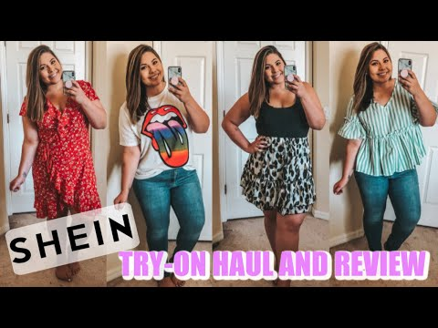 SHEIN TRY-ON HAUL AND REVIEW || PLUS SIZE AND CURVY GIRL FASHION!
