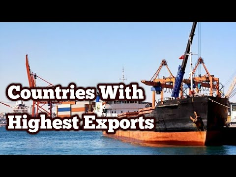 Top 10 Countries With Highest Exports