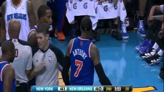Carmelo Anthony Almost Punched Roger Mason Jr - 11/20/12