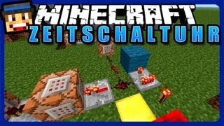 Zeitschaltuhr mit Commandblöcken -- Minecraft Redstone Tutorial [DE][HD]