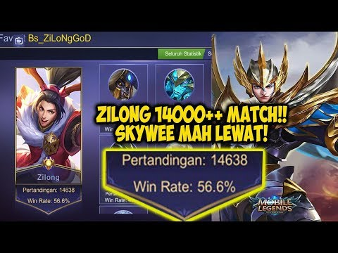 14.000 MATCH ZILONG - TOP GLOBAL ZILONG #NGOBEL