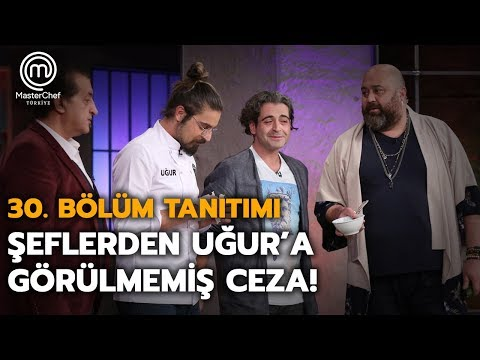 Şeflerden Uğur'a görülmemiş ceza! | 30.Bölüm Tanıtımı | MasterChef Türkiye