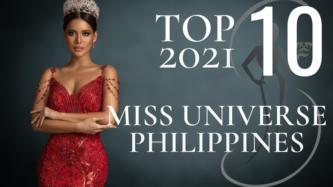 Watch: Miss Universe Philippines [2021] Top 10 Leader board!
