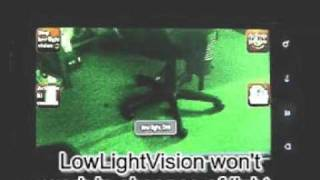 Android Low Light Vision camera software