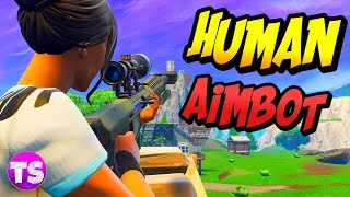 Fortnite battle royale - fails and funny moments - AM I THE HUMAN AIMBOT!?