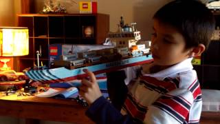 Lego 10155 Maersk Container Ship Review