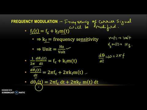 Angle Modulation Part II