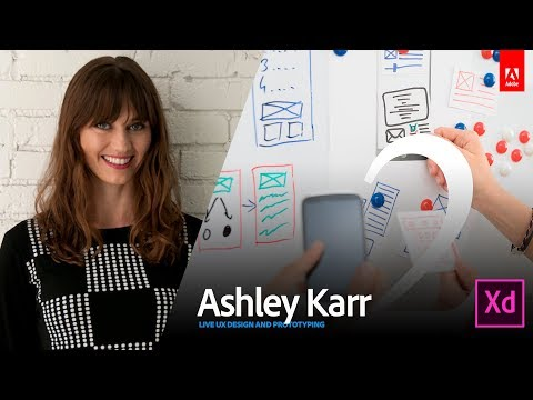 Live UX Design with Ashley Karr 2/3