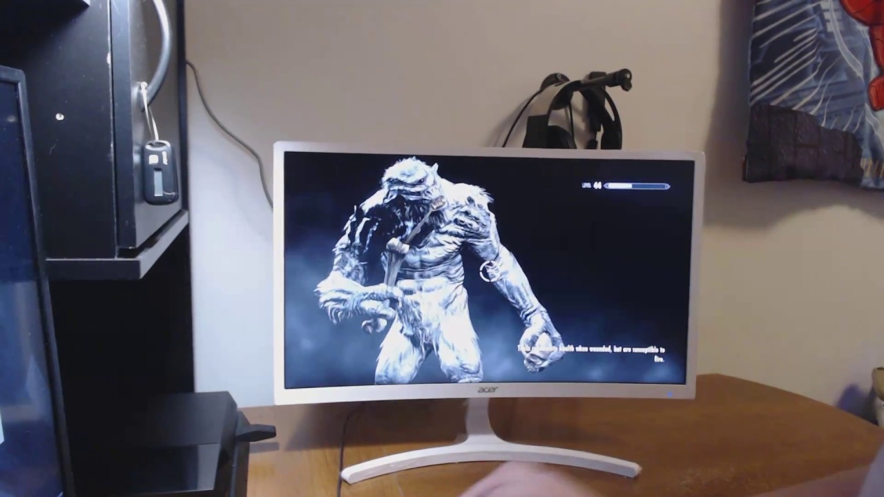 Review Acer Gaming Monitor 236 Curved Ed242qr Abidpx Asus Vp247qg Full Hd Tn 1ms 75hz Freesync Speaker