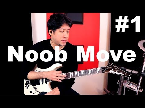 Noob Move #1: Copying the OTHER Guitarist