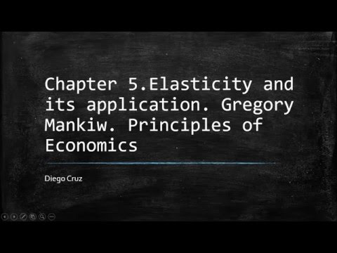 Chapter 5. Elasticity and Its application.