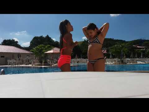 O desafio da piscina com Gabrielle Debaquer