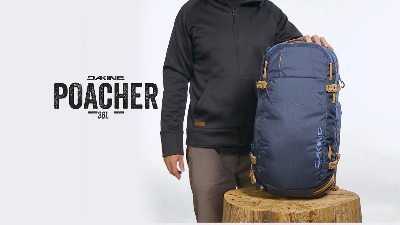Dakine Poacher 36L Pack - YouTube