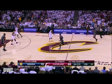 Iman Shumpert Defense On Paul George, April 17, Playoffs 2017, R1G2