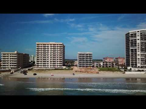 DRONE FLIGHT OVER DAYTONA BEACH SHORES