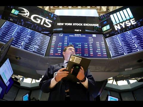 Pire semaine en bourse depuis 2008