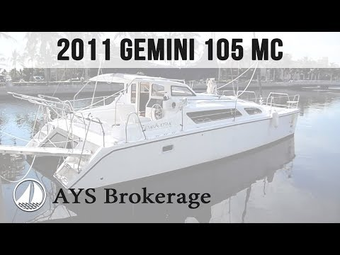 Brokerage 2011 Gemini 105MC - Design Touch - offered by Annapolis Yacht Sales