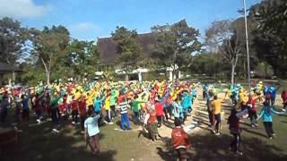 ospek pkk hmj pmipa fkip unja flashmob 2013
