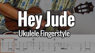 The Beatles - Hey Jude (Ukulele Fingerstyle + Free Tabs)