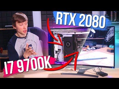 Что будет, если в монитор запихнуть RTX 2080 и i7 9700k?