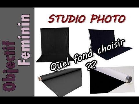 📷 Quel fond utiliser pour un STUDIO PHOTO ?