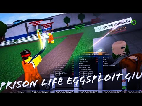 Turn Shotgun To Minigunroblox Prison Life Exploit Gui Op - youtube roblox hack prison life