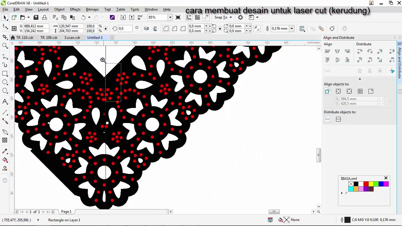 create to laser hijab - YouTube