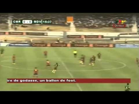 Cameroon 1-0 Moldova. Full Match! 1 time.