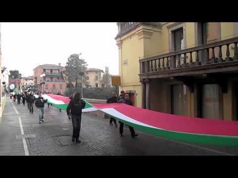 """Manifestazione """"contro l'annessione del Friuli Orientale alla Slovenia"""""""