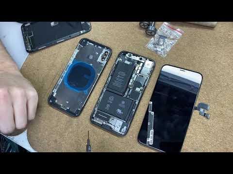 """Как убитый IPhone X за 5.000р превратится в """"НОВЫЙ"""" за копейки..."""