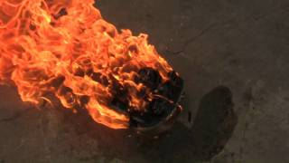 Revenge!! Burning my ex-girlfriend