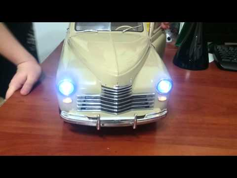 видео: Видеообзор на модель газ м-20 Победа!!